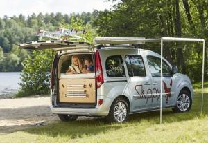 Skippy: Einfache und praktische Camping-Module. © spothits/Auto-Medienportal.Net/Skippy