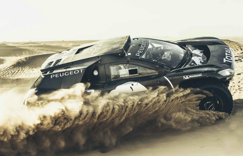 Peugeot entwickelt den 2008 DKR weiter. © spothits/Auto-Medienportal.Net/Peugeot