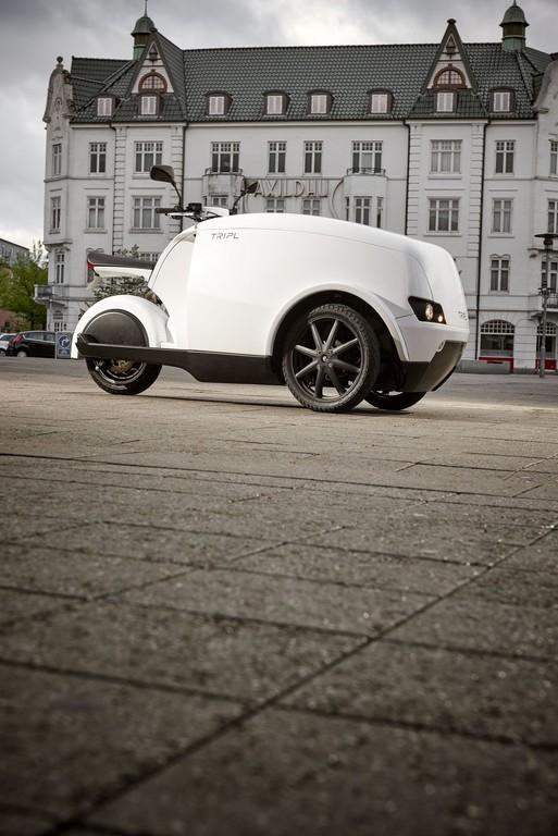 Govecs stellt dreirädrigen Elektro-Lastenroller vor. © spothits/Auto-Medienportal.Net/Govecs