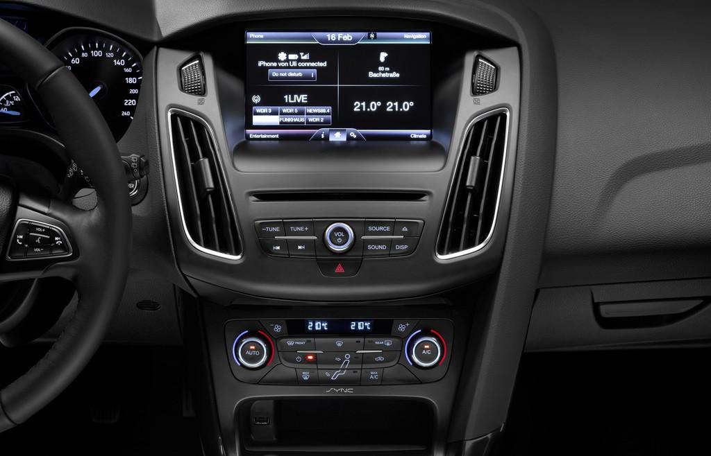 Ford Sync versteht Dialekte. © spothits/Auto-Medienportal.Net/Ford