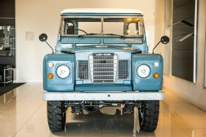 Bob Marleys Land Rover ist wieder fit. © spothits/Auto-Medienportal.Net/Land Rover