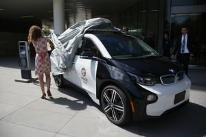 LAPD testet BMW i3: Der Sheriff kommt auf leisen Sohlen. © spothits/Auto-Medienportal.Net