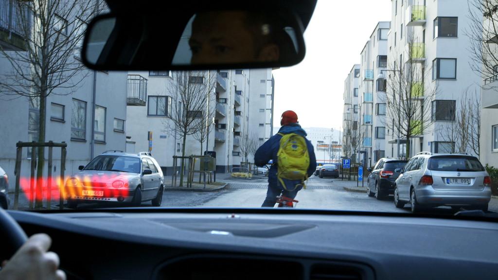 Fußgängerschutz hilft Radfahrern wenig. © spothits/Auto-Medienportal.Net/Volvo