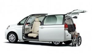 Toyota präsentiert Fahrzeuge für Menschen mit Handicap. © spothits/Auto-Medienportal.Net/Toyota