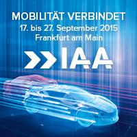 IAA 2015. © spothits/Messe Frankfurt