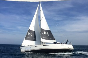 The Rose of Charity – DS Sailingcup 2015 gestartet. © spothits/Citroen