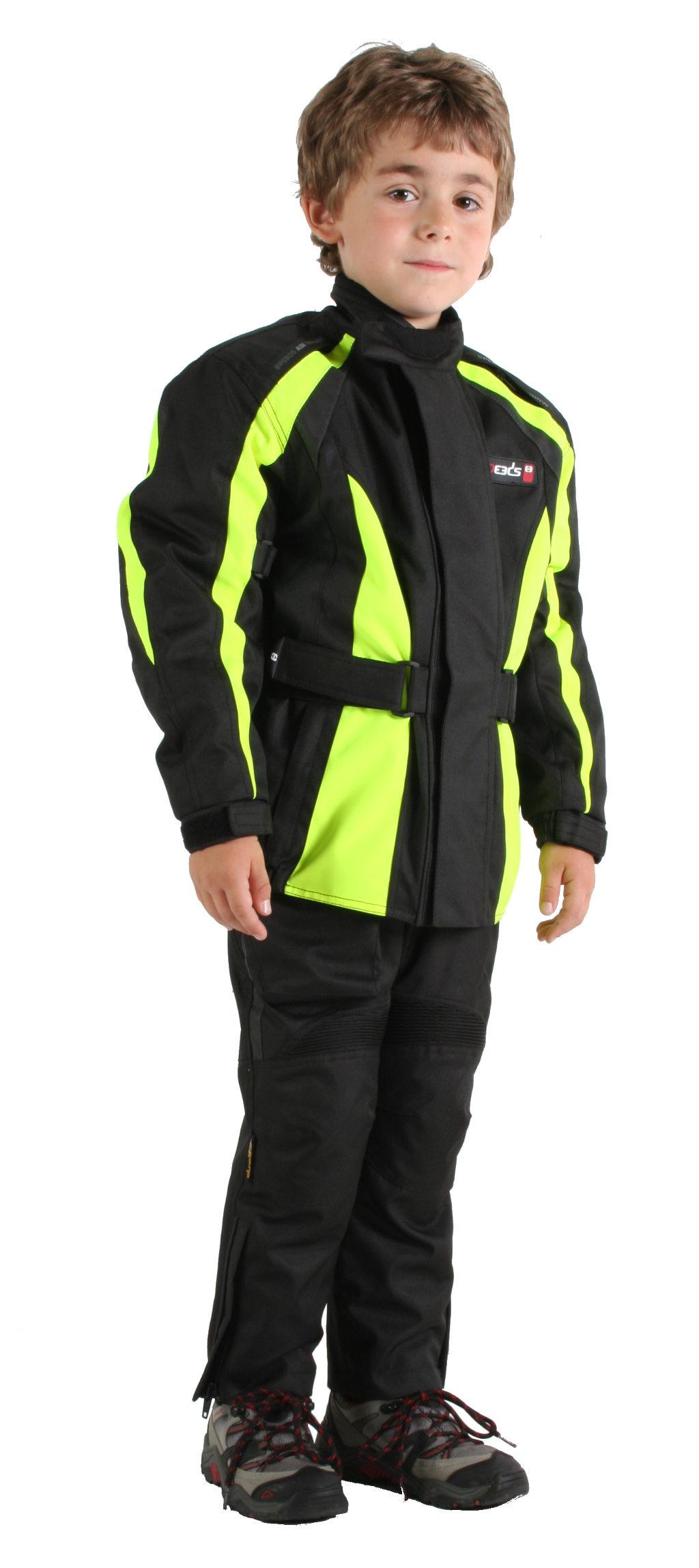 SPEEDS: Motorrad-Jacke und Hose für Kinder. © spothits/Speeds Performance Parts