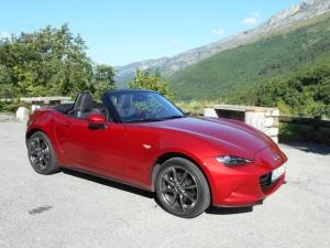 Der Mazda MX-5 legt guten Start hin. © spothits/Auto-Medienportal.Net