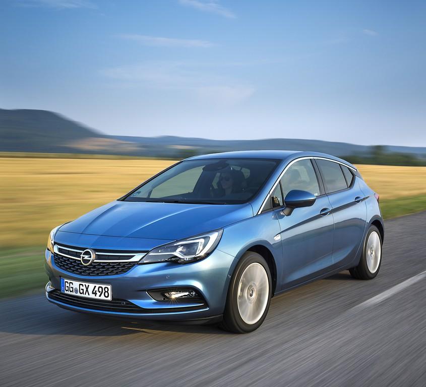 Opel Astra ab 10. Oktober beim Händler. © spothits/Auto-Medienportal.Net/Opel