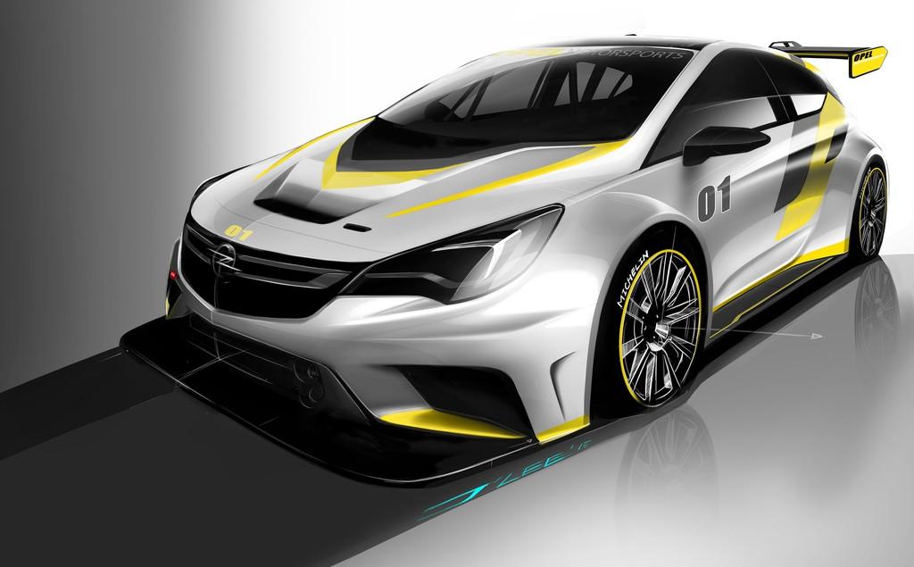 Der Opel Astra für die Rennstrecke. © spothits/Auto-Medienportal.Net/Opel