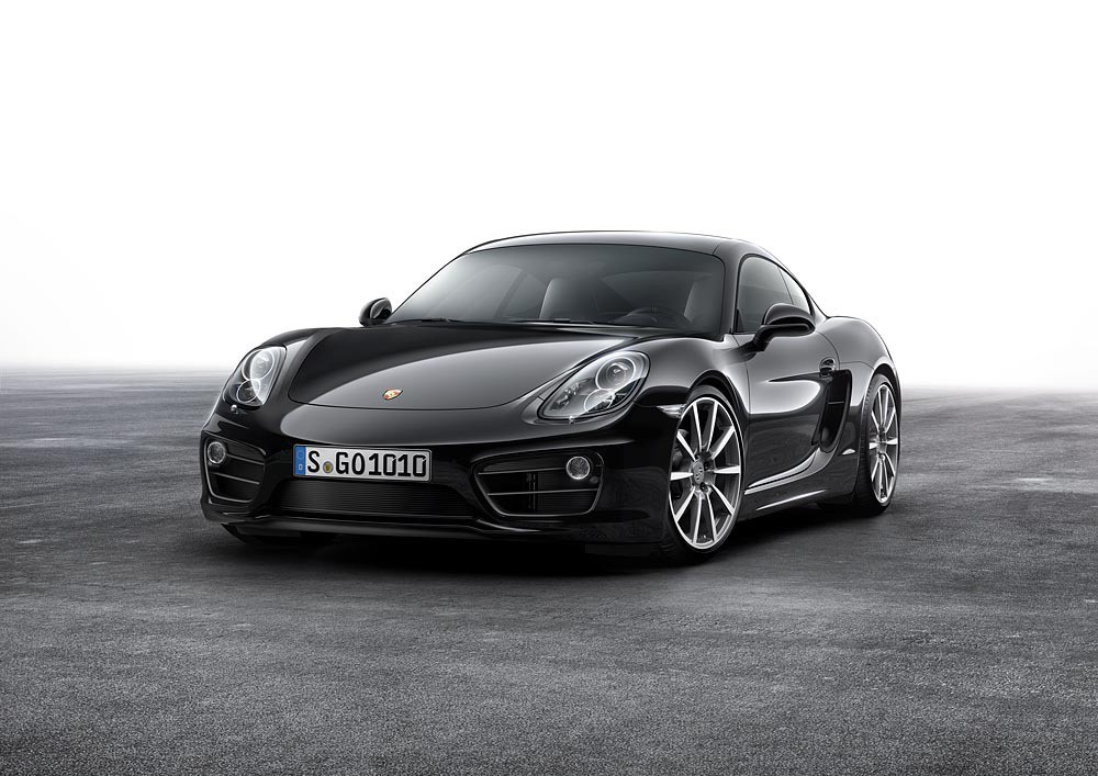 Porsche Cayman in schwarzem Gewand. © spothits/Auto-Medienportal.Net/Porsche
