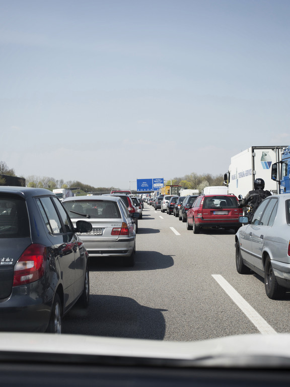 Stauprognose: Baustellen und Herbstferien bremsen den Verkehr. © spothits/ Auto-Medienportal.Net/ADAC