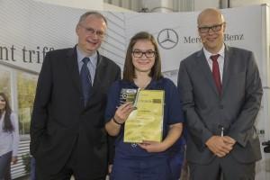 150 neue Auszubildende im Lkw-Werk Wörth. © spothits/Auto-Medienportal.Net/Daimler