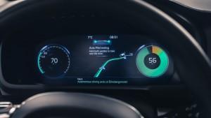 Schaltwippen aktivieren autonomen Fahrmodus. © spothits/Auto-Medienportal.Net/Volvo
