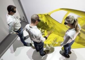 Audi testet Gestensteuerung in der Vorentwicklung. © spothits/Auto-Medienportal.Net/Audi