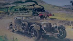 Blue Train Race: Der Bentley war wieder schneller. © spothits/Auto-Medienportal.Net/Bentely