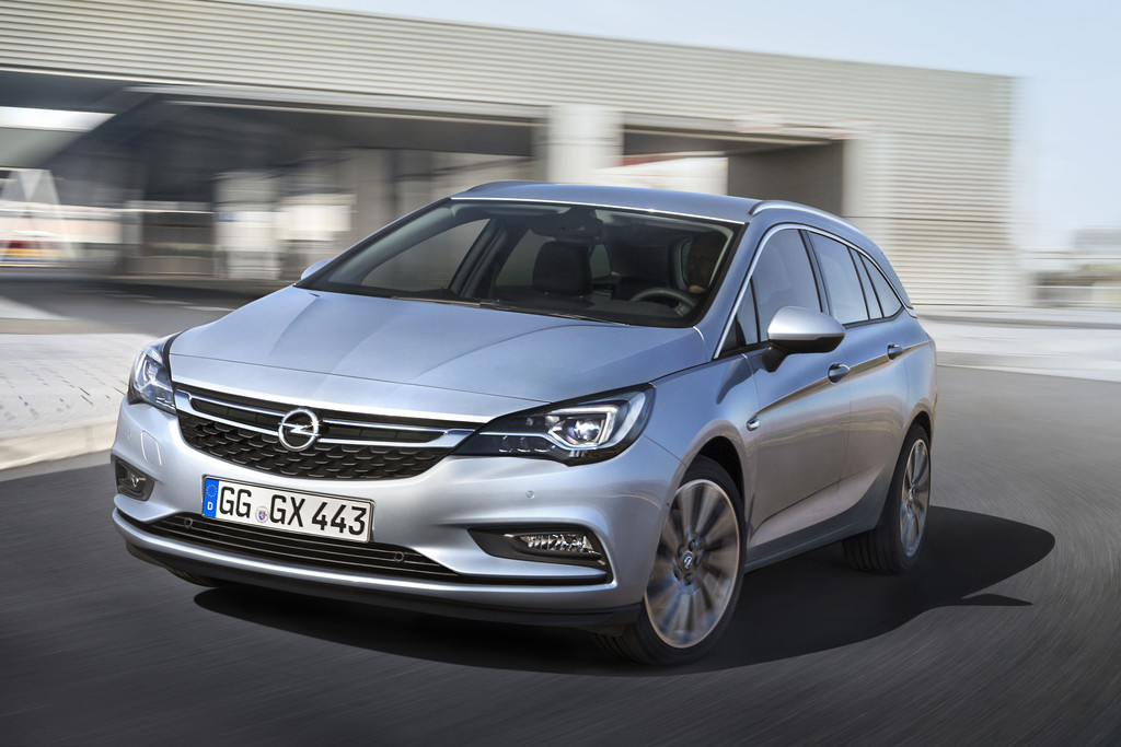 Bestellstart für den Opel Astra Sports Tourer. © spothits/Auto-Medienportal.Net/Opel