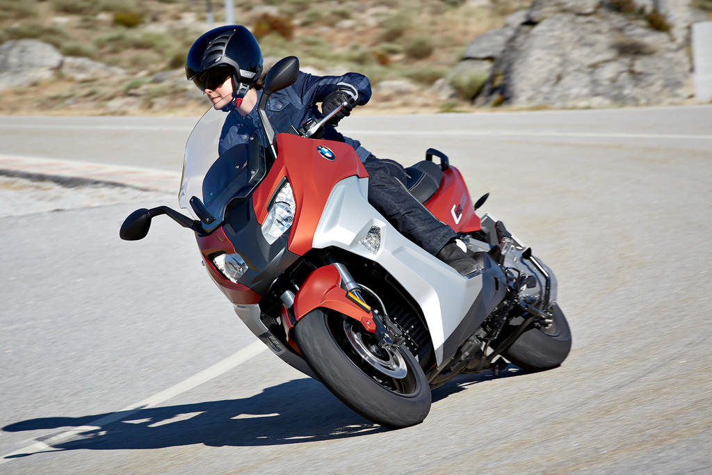 BMW hat seine Scooter optimiert. © spothits/Auto-Medienportal.Net/BMW