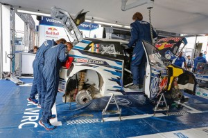 Jost Capito: Die Mechaniker sind Teil des Wettbewerbs. © spothits/Auto-Medienportal.Net/Volkswagen