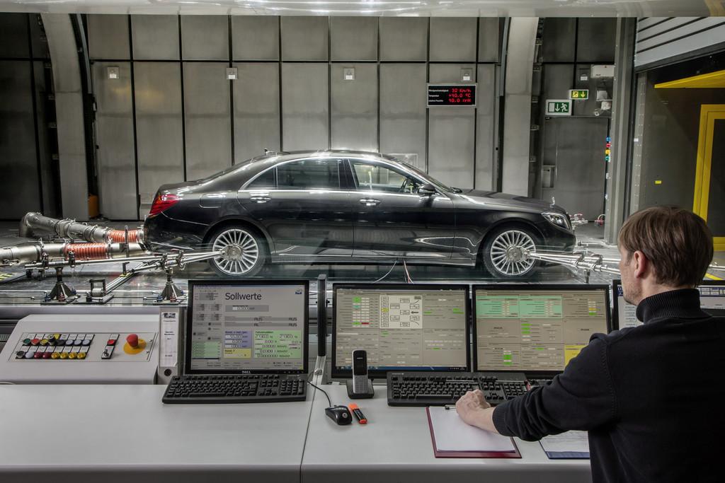 Mercedes-Benz setzt ab 2017 auf CO2-Klimaanlagen. © spothits/Auto-Medienportal.Net/Daimler