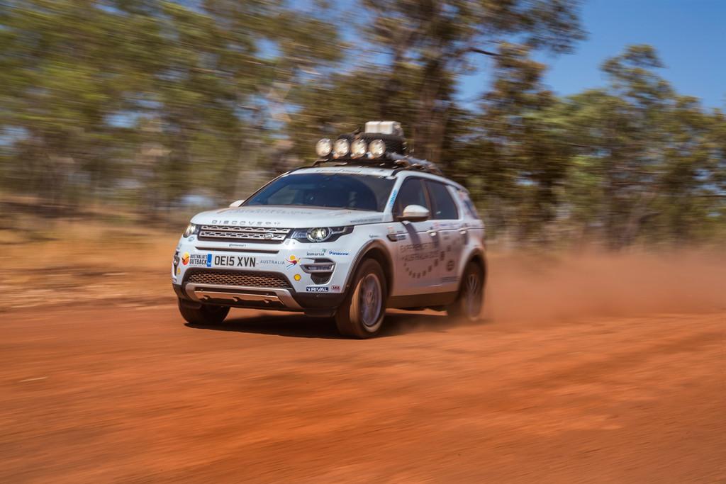 Land Rover Experience gestartet . © spothits/Auto-Medienportal.Net/Land Rover