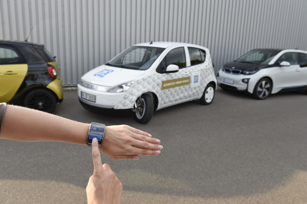 Tokio 2015: ZF bringt Advanced Urban Vehicle mit. © spothits/Auto-Medienportal.Net/ZF