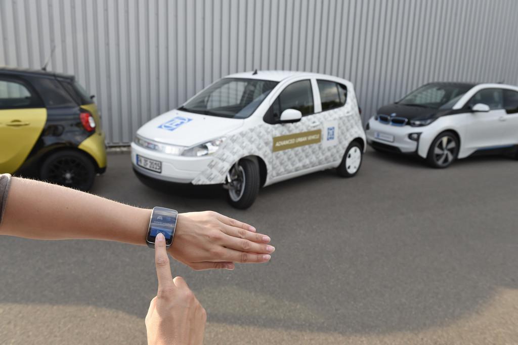 Tokio 2015: ZF bringt Advanced Urban Vehicle mit. © spothits/Auto-Medienportal.Net/ZF