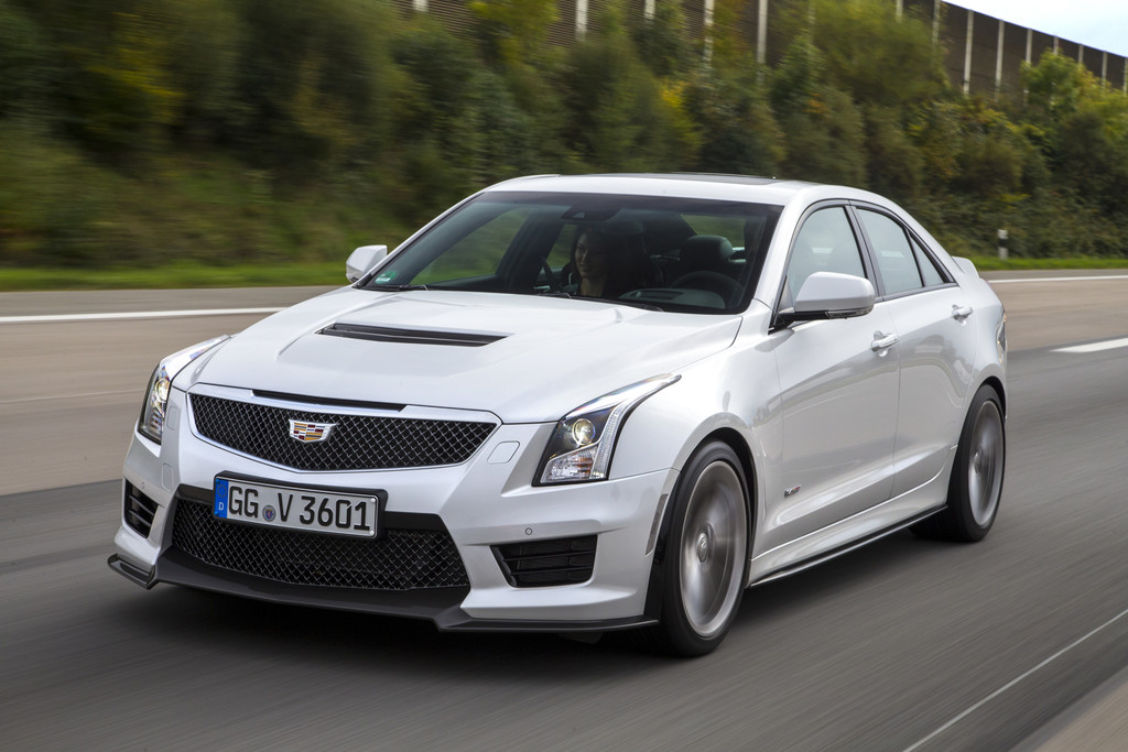Cadillac V-Serie: 320 km/h für unter 100 000 Euro. © spothits/Auto-Medienportal.Net/Cadillac