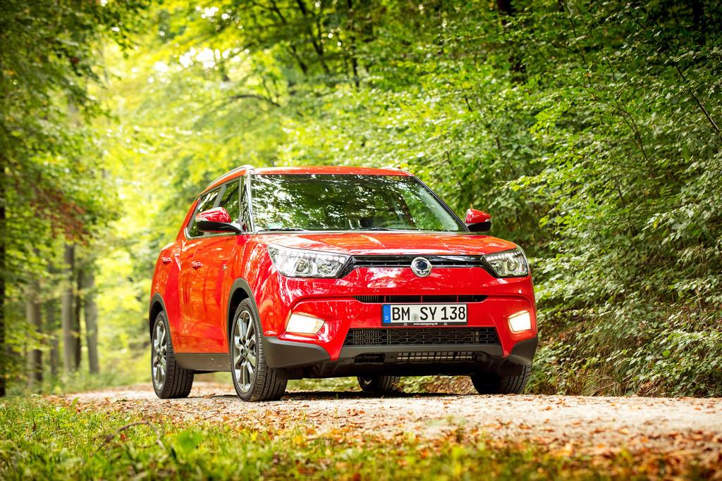 Ssangyong Tivoli als Diesel erhältlich. © spothits/Auto-Medienportal.Net/Ssangyong