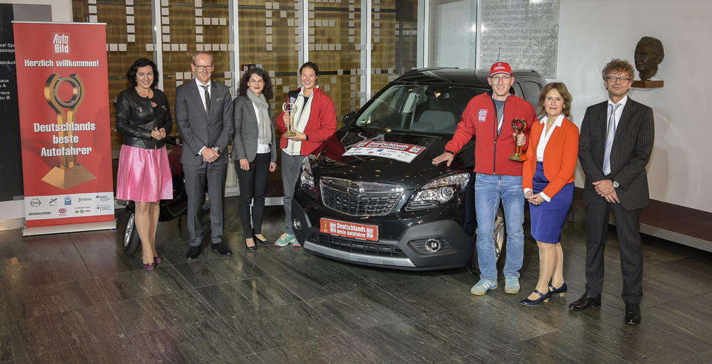 Deutschlands beste Autofahrer erhalten einen Opel Mokka. © spothits/Auto-Medienportal.Net/Opel