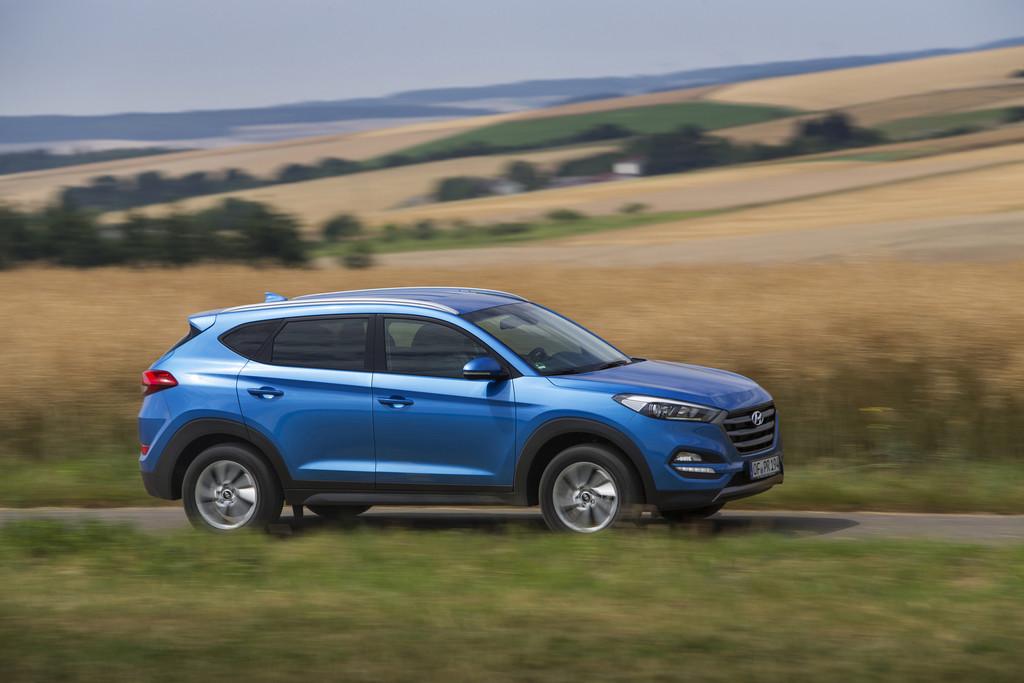 Bereits 8000 Bestellungen für Hyundai Tucson. © spothits/Auto-Medienportal.Net/Hyundai