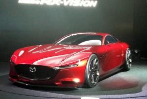 Tokio 2015: Mazda zeigt RX-Vision. © spothits/Auto-Medienportal.Net