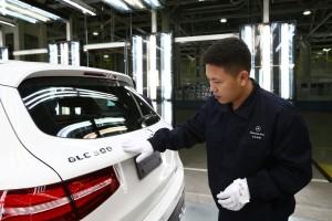 Produktionsstart für Mercedes-Benz GLC in China. © spothits/Auto-Medienportal.Net/Daimler
