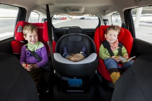 2014 verunglückten 10 765 Kinder als Mitfahrer im Pkw. © spothits/Auto-Medienportal.Net/ADAC