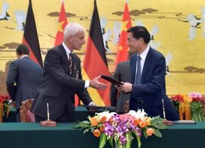 Volkswagen und chinesische Bank planen Zusammenarbeit. © spothits/Auto-Medienportal.Net/Volkswagen