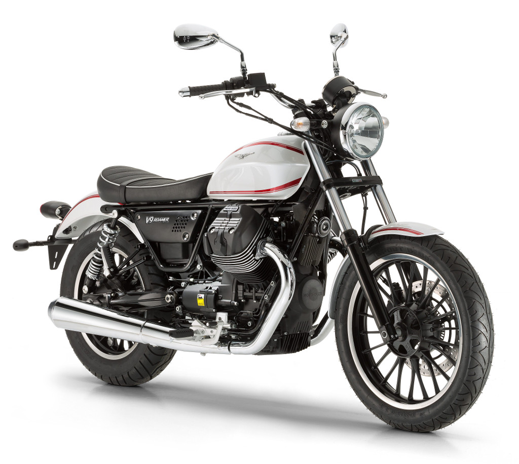 EICMA 2015: Moto Guzzi V9 Roamer. © spothits/Piaggio