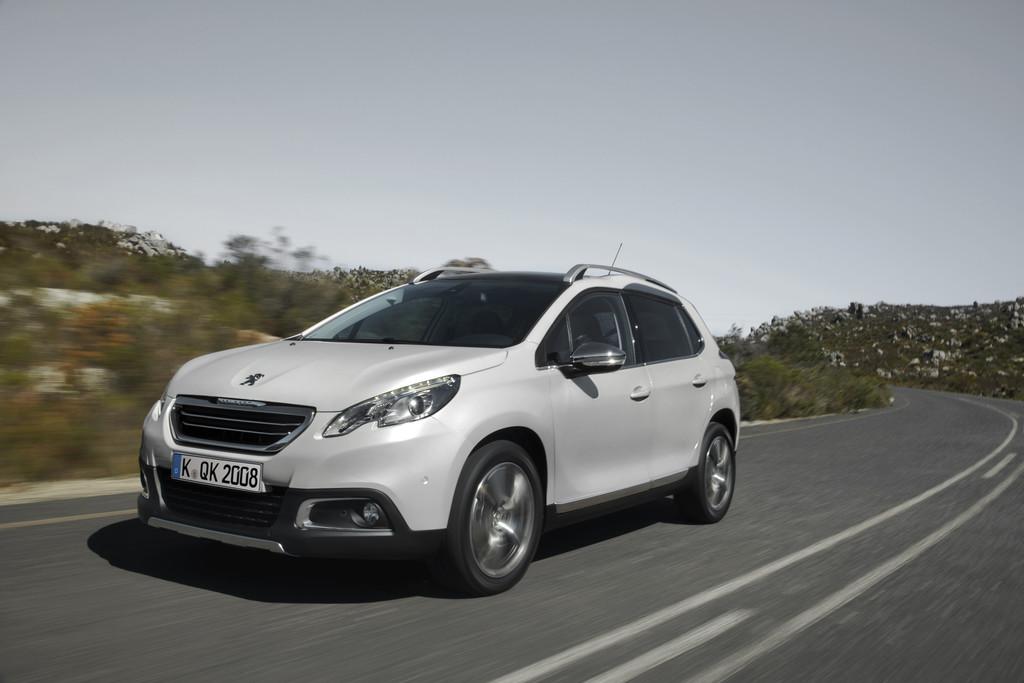Peugeot 2008 sparsamer. © spothits/Auto-Medienportal.Net/Peugeot