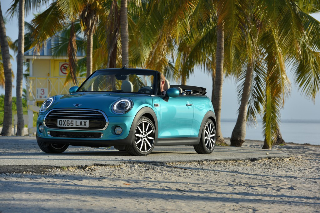 Mini startet Marketingkampagne für das Cabrio. © spothits/Auto-Medienportal.Net/BMW