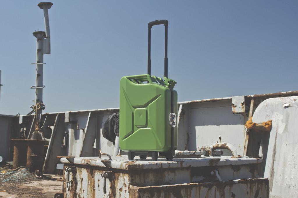 G-Case: Reise-Trolleys für Petrolheads. © spothits/Auto-Medienportal.Net/Eon