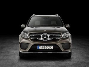 Mercedes-Benz GLS: GL trifft auf S-Klasse. © spothits/Auto-Medienportal.Net/Mercedes-Benz