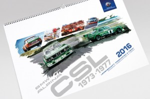 Kalender zeigt BMW Alpina CLS . © spothits/Auto-Medienportal.Net/Alpina