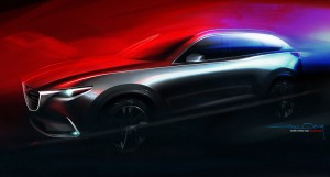 Los Angeles 2015: Weltpremiere des Mazda CX-9. © spothits/Auto-Medienportal.Net/Mazda
