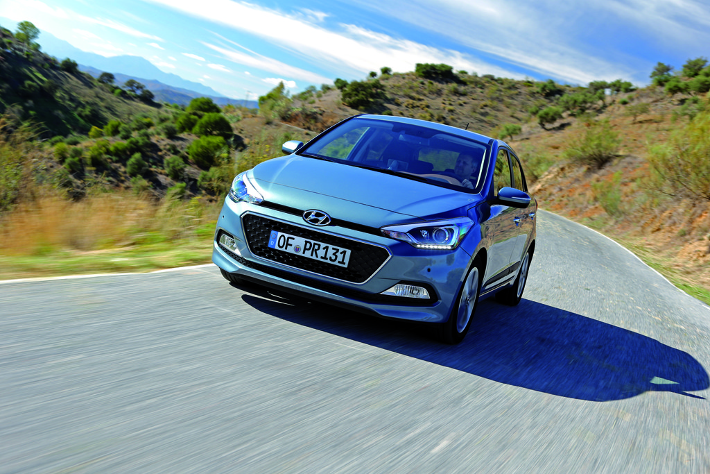 Drei Zylinder für den Hyundai i20 . © spothits/Auto-Medienportal.Net/Hyundai