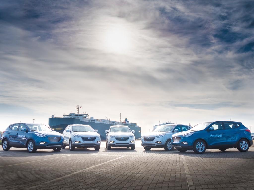 Hyundai bringt mehr Brennstoffzellenfahrzeuge nach Europa. © spothits/Auto-Medienportal.Net/Hyundai