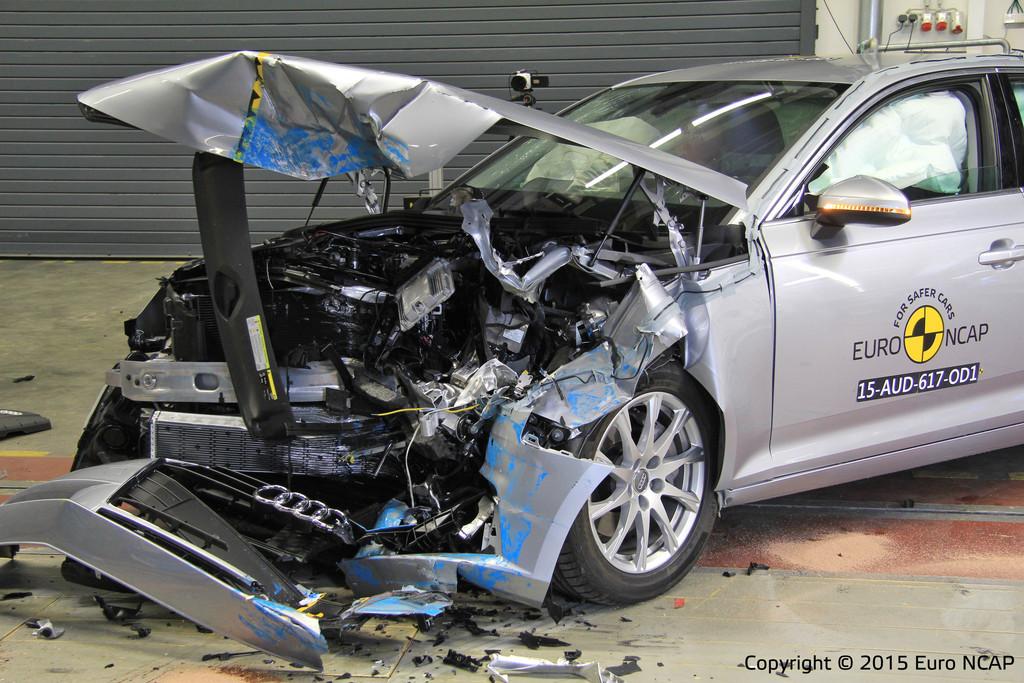 Euro NCAP lässt es wieder krachen. © spothits/Auto-Medienportal.Net/Euro NCAP