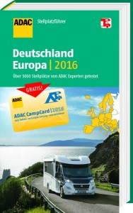 ADAC bringt Stellplatzführer 2016. © spothits/Auto-Medienportal.Net/ADAC