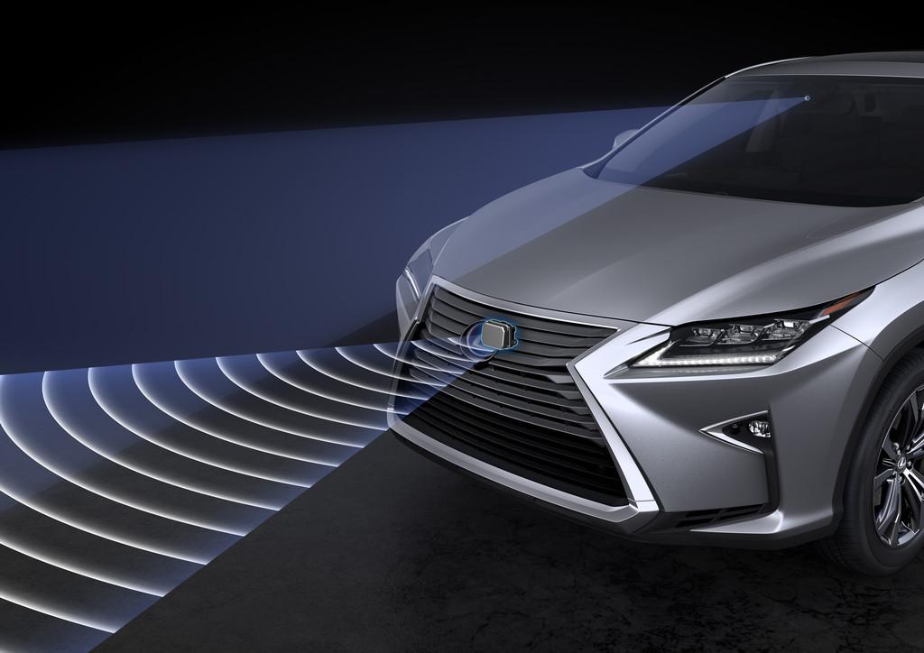 Safety System + sorgt im Lexus RX für Sicherheit. © spothits/Auto-Medienportal.Net/Toyota