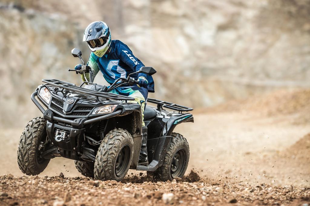 Neues ATV-Einstiegsmodell von CF Moto. © spothits/Auto-Medienportal.Net/CF Moto