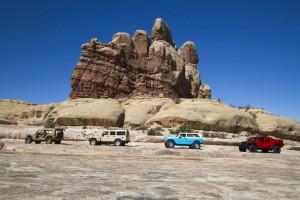 """Moab Easter Jeep Safari"": Wo zu Fuß nichts mehr geht. © spothits/Auto-Medienportal.Net/Jeep"
