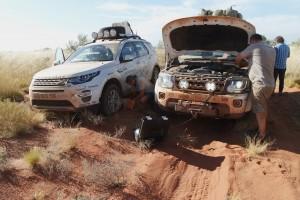 Land Rover Experience Tour 2015: Helikopter und die schwarze Schlange. © Auto-Medienportal.Net